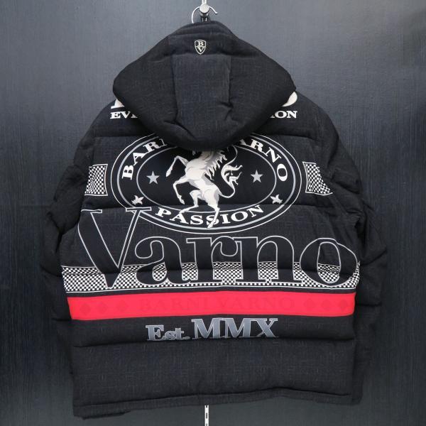 バーニヴァーノ ダウンジャケット 黒 Lサイズ BAW-GDB2601-09 BARNI VARNO|wanwan|02