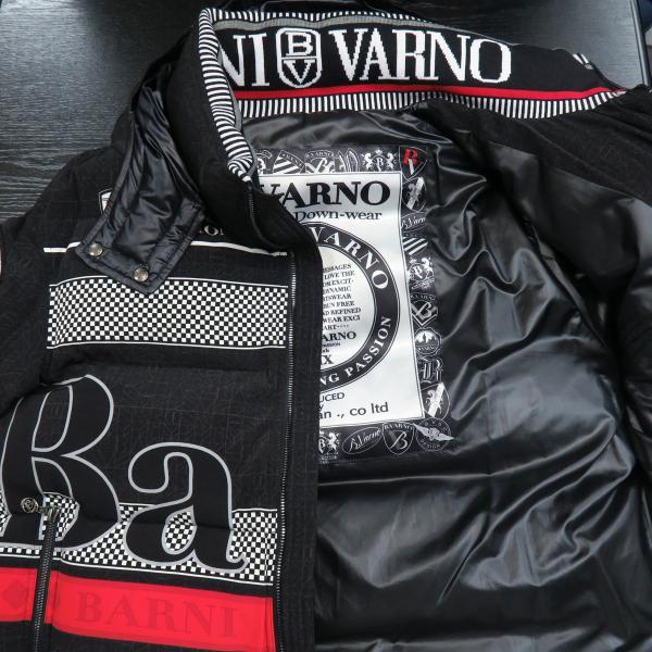 バーニヴァーノ ダウンジャケット 黒 Lサイズ BAW-GDB2601-09 BARNI VARNO|wanwan|03