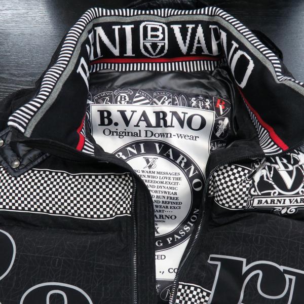 バーニヴァーノ ダウンジャケット 黒 Lサイズ BAW-GDB2601-09 BARNI VARNO|wanwan|04
