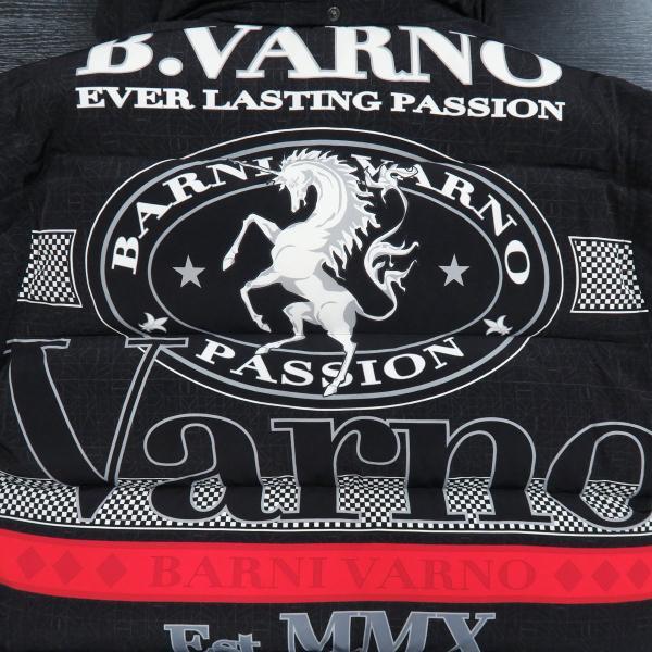 バーニヴァーノ ダウンジャケット 黒 Lサイズ BAW-GDB2601-09 BARNI VARNO|wanwan|05