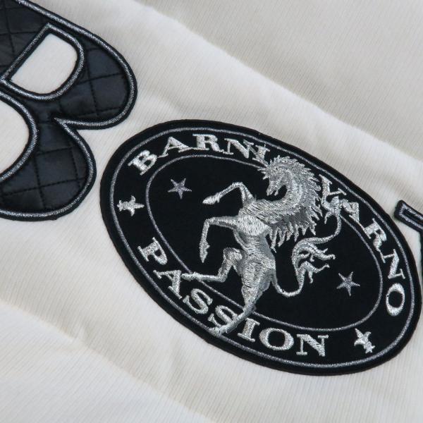 バーニヴァーノ ダウンジャケット オフシロ/黒 Lサイズ BAW-GDB2602-02 BARNI VARNO wanwan 06