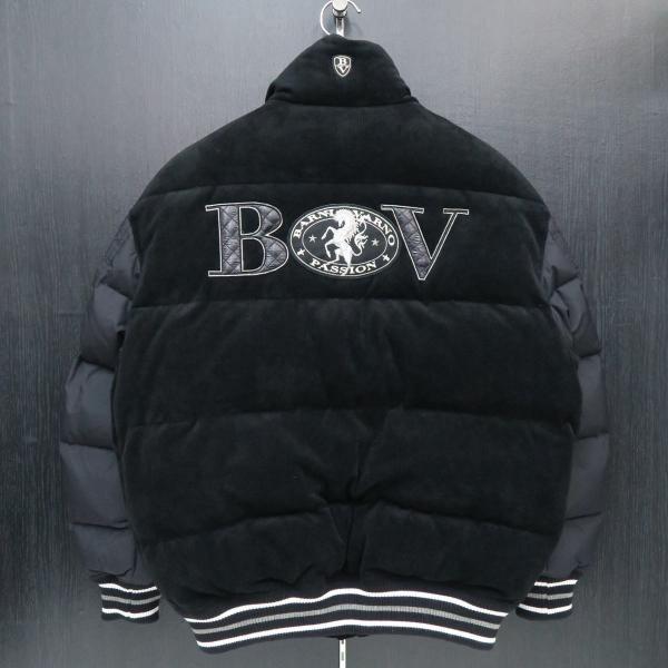 バーニヴァーノ ダウンジャケット 黒 Lサイズ BAW-GDB2602-09 BARNI VARNO wanwan 02