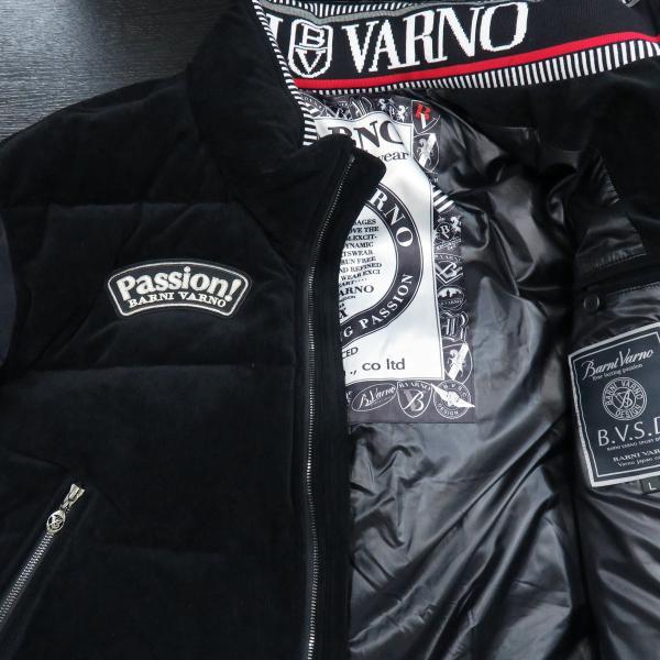 バーニヴァーノ ダウンジャケット 黒 Lサイズ BAW-GDB2602-09 BARNI VARNO wanwan 03