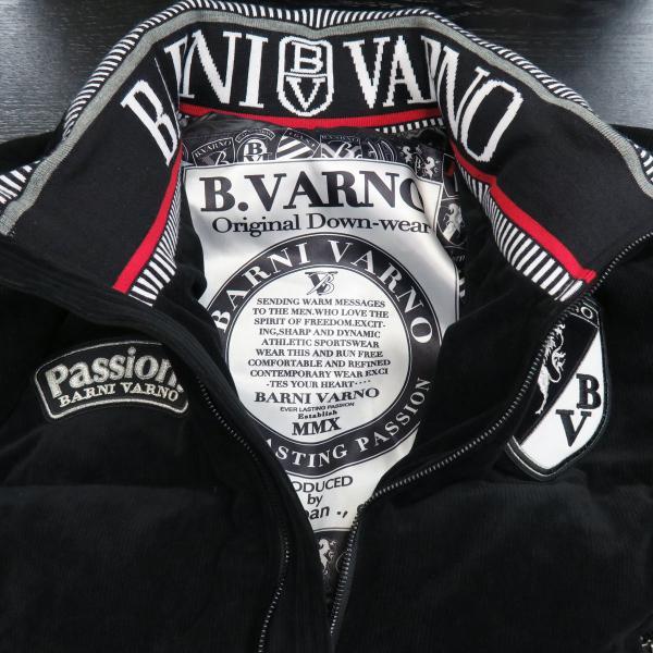 バーニヴァーノ ダウンジャケット 黒 Lサイズ BAW-GDB2602-09 BARNI VARNO wanwan 04