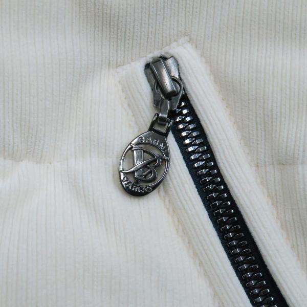 バーニヴァーノ ダウンジャケット オフシロ/紺 Lサイズ BAW-GDB2603-02 BARNI VARNO|wanwan|05