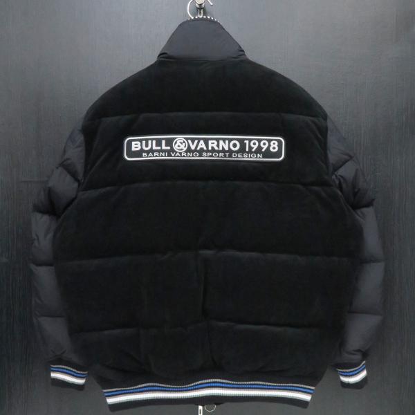 バーニヴァーノ ダウンジャケット 黒 Lサイズ BAW-GDB2603-09 BARNI VARNO|wanwan|02