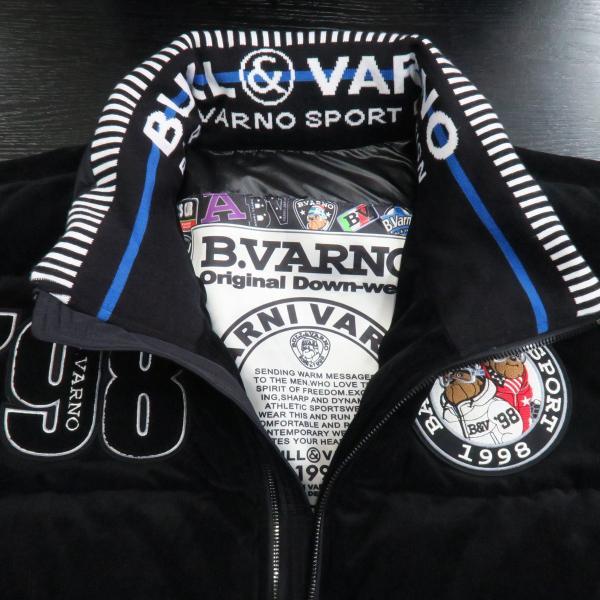 バーニヴァーノ ダウンジャケット 黒 Lサイズ BAW-GDB2603-09 BARNI VARNO|wanwan|04