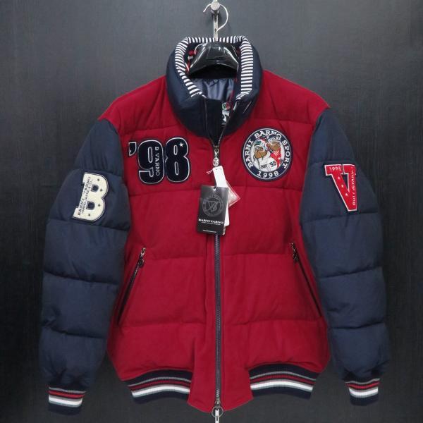 バーニヴァーノ ダウンジャケット 赤 Lサイズ BAW-GDB2603-45 BARNI VARNO|wanwan