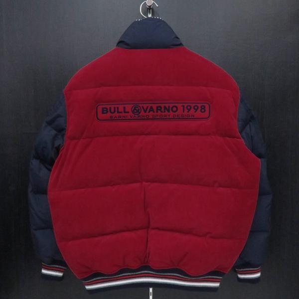 バーニヴァーノ ダウンジャケット 赤 Lサイズ BAW-GDB2603-45 BARNI VARNO|wanwan|02