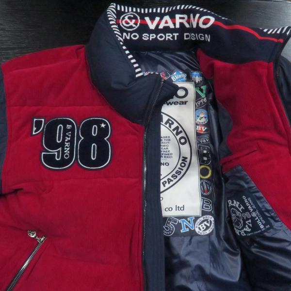 バーニヴァーノ ダウンジャケット 赤 Lサイズ BAW-GDB2603-45 BARNI VARNO|wanwan|03