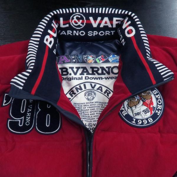バーニヴァーノ ダウンジャケット 赤 Lサイズ BAW-GDB2603-45 BARNI VARNO|wanwan|04