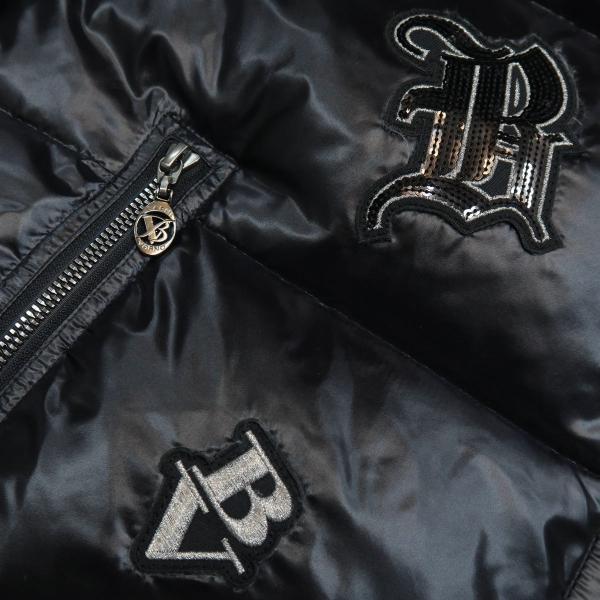 バーニヴァーノ ダウンジャケット 黒 Lサイズ BSS-GDB2605-09 BARNI VARNO|wanwan|04