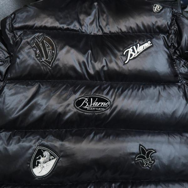 バーニヴァーノ ダウンジャケット 黒 Lサイズ BSS-GDB2605-09 BARNI VARNO|wanwan|06