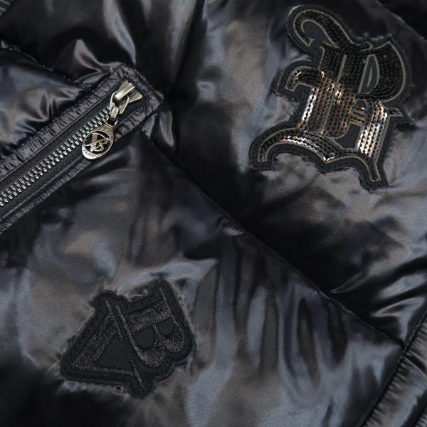 バーニヴァーノ ダウンジャケット 黒 Lサイズ BSS-GDB2605-90 BARNI VARNO|wanwan|04