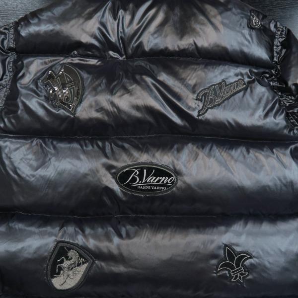 バーニヴァーノ ダウンジャケット 黒 Lサイズ BSS-GDB2605-90 BARNI VARNO|wanwan|06