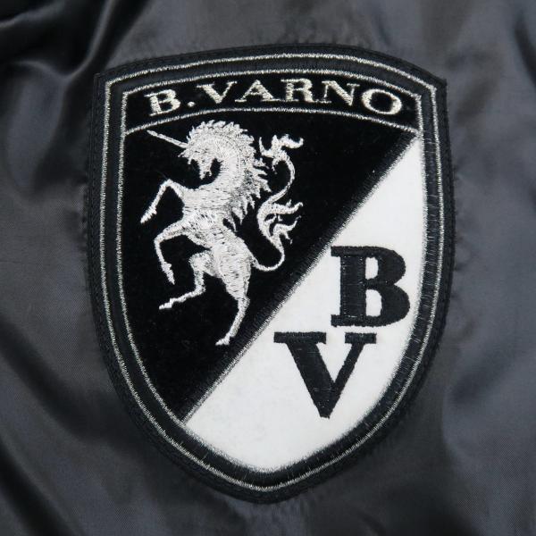 バーニヴァーノ ダウンベスト 黒/白 Lサイズ BAW-GDV2600-05 BARNI VARNO|wanwan|06