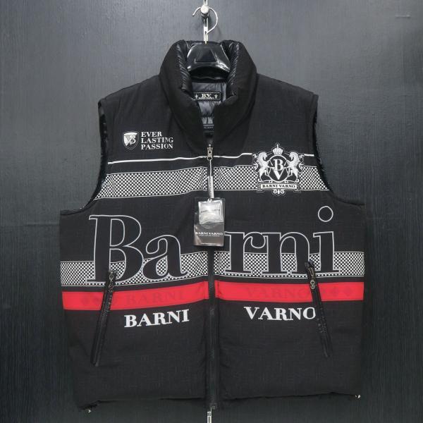 バーニヴァーノ リバーシブルダウンベスト 黒 LLサイズ BAW-GDV2600-09 BARNI VARNO wanwan 04