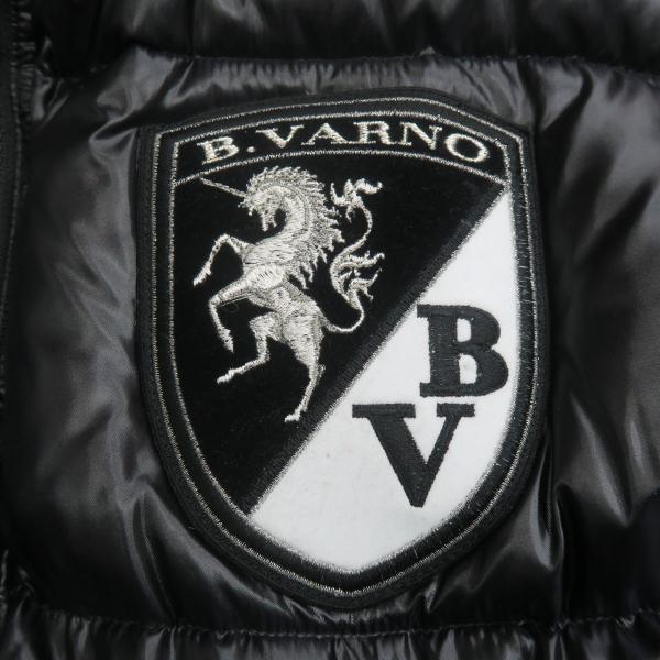 バーニヴァーノ リバーシブルダウンベスト 黒 LLサイズ BAW-GDV2600-09 BARNI VARNO wanwan 09