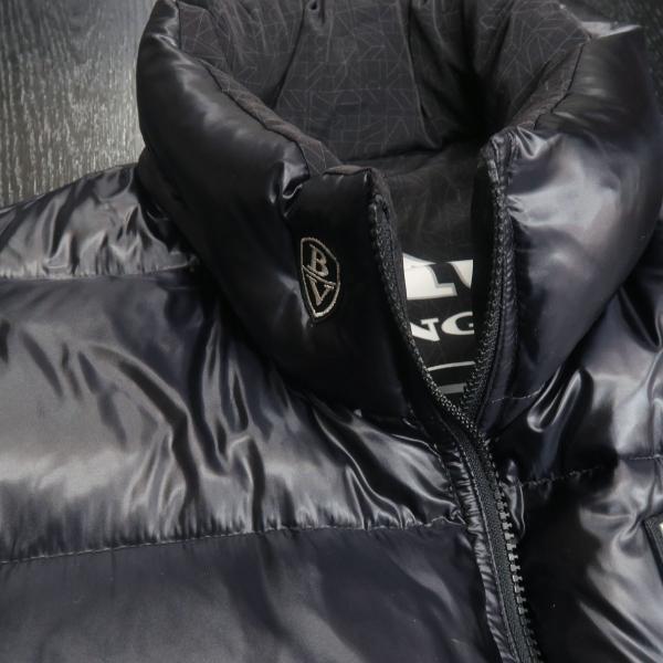バーニヴァーノ リバーシブルダウンベスト 黒 LLサイズ BAW-GDV2600-09 BARNI VARNO wanwan 10