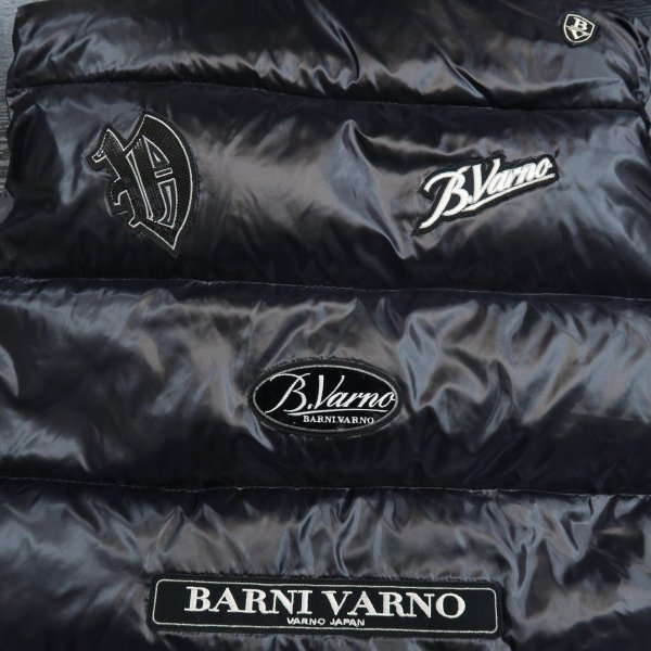 バーニヴァーノ ダウンベスト 黒 LLサイズ BAW-GDV2606-09 BARNI VARNO|wanwan|06