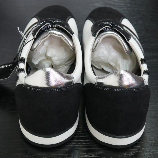 バーニヴァーノ スニーカー 白/黒 BAW-GKS2721-01 BARNI VARNO 靴|wanwan|04