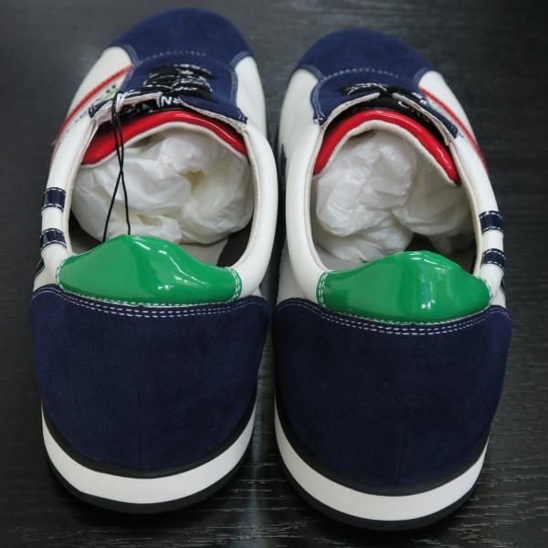 バーニヴァーノ スニーカー 白/紺 BAW-GKS2721-02 BARNI VARNO 靴|wanwan|04