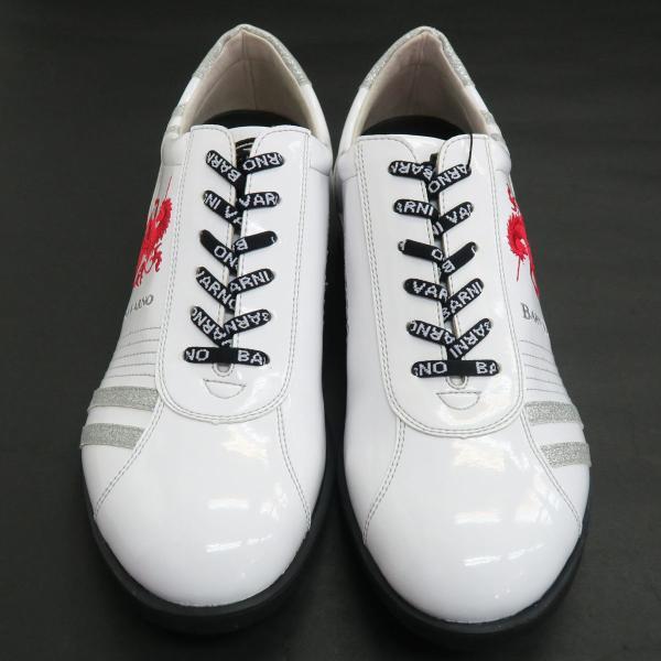 バーニヴァーノ スニーカー 白 BAW-GKS2722-01 BARNI VARNO 靴|wanwan|02