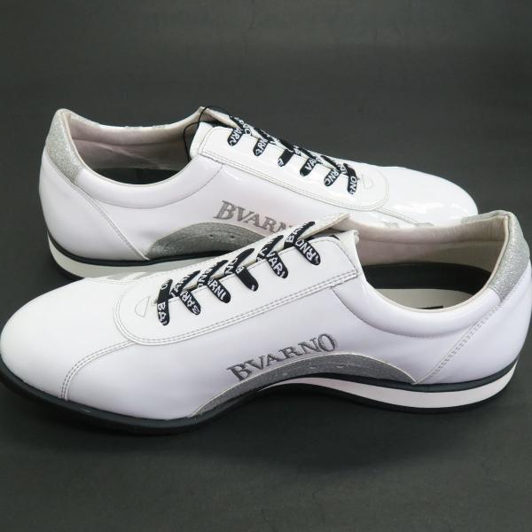 バーニヴァーノ スニーカー 白 BAW-GKS2722-01 BARNI VARNO 靴|wanwan|05