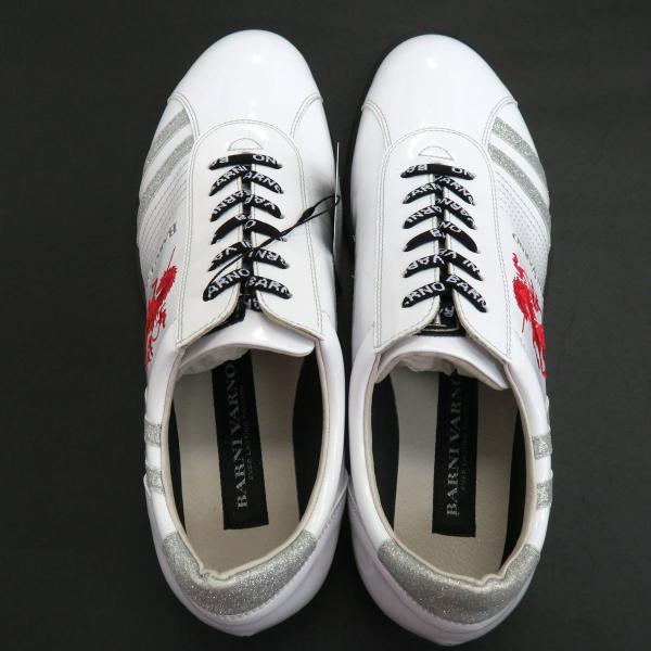 バーニヴァーノ スニーカー 白 BAW-GKS2722-01 BARNI VARNO 靴|wanwan|06