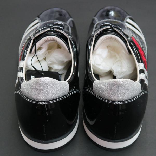 バーニヴァーノ スニーカー 黒 BAW-GKS2722-09 BARNI VARNO 靴 wanwan 02