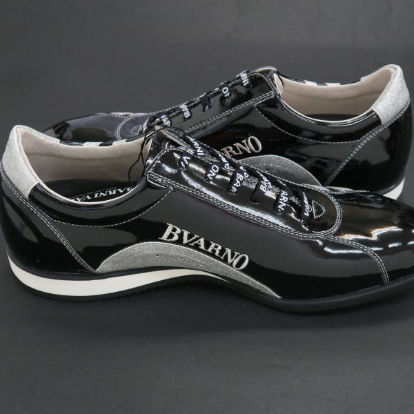 バーニヴァーノ スニーカー 黒 BAW-GKS2722-09 BARNI VARNO 靴|wanwan|05