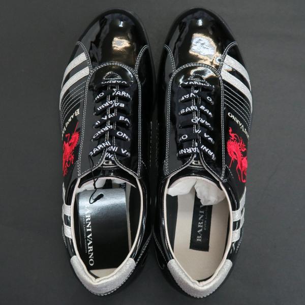 バーニヴァーノ スニーカー 黒 BAW-GKS2722-09 BARNI VARNO 靴 wanwan 06