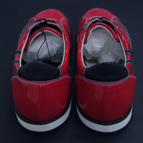バーニヴァーノ スニーカー 赤 BAW-GKS2722-45 BARNI VARNO 靴|wanwan|04