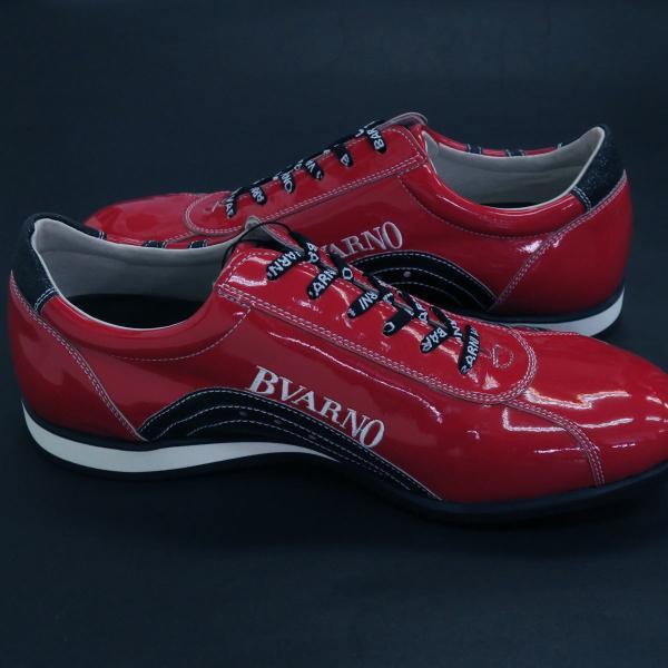 バーニヴァーノ スニーカー 赤 BAW-GKS2722-45 BARNI VARNO 靴|wanwan|05