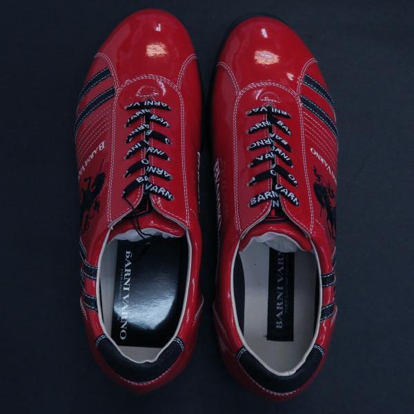 バーニヴァーノ スニーカー 赤 BAW-GKS2722-45 BARNI VARNO 靴|wanwan|06