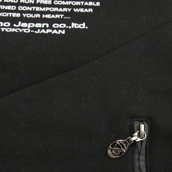 バーニヴァーノ トラックジャケット上下セット 黒 Lサイズ BAW-GSS2682-09 BARNI VARNO|wanwan|05