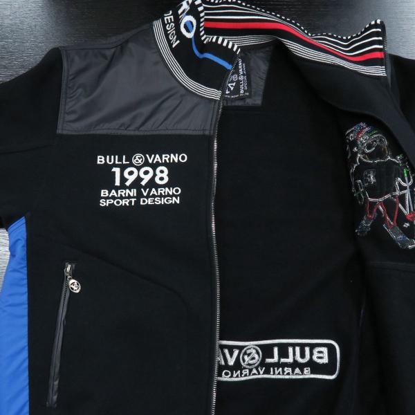 バーニヴァーノ トラックジャケット上下セット 黒 Lサイズ BAW-GSS2685-09 BARNI VARNO|wanwan|03