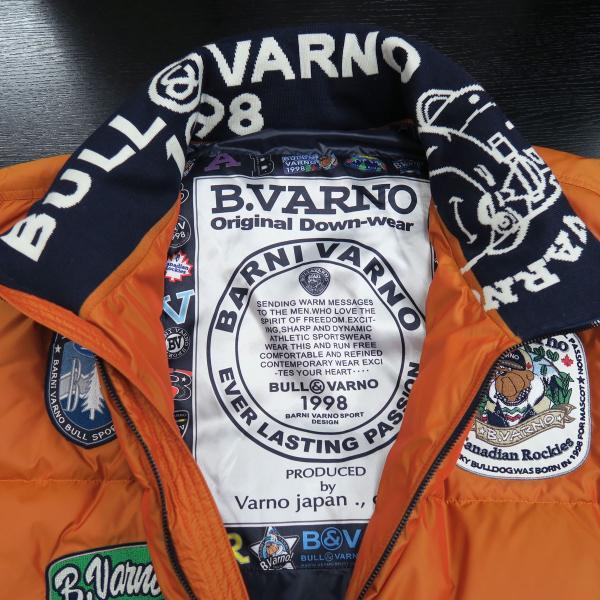 バーニヴァーノ ダウンジャケット オレンジ LLサイズ BAW-HDB3005-27 BARNI VARNO 新作 wanwan 03