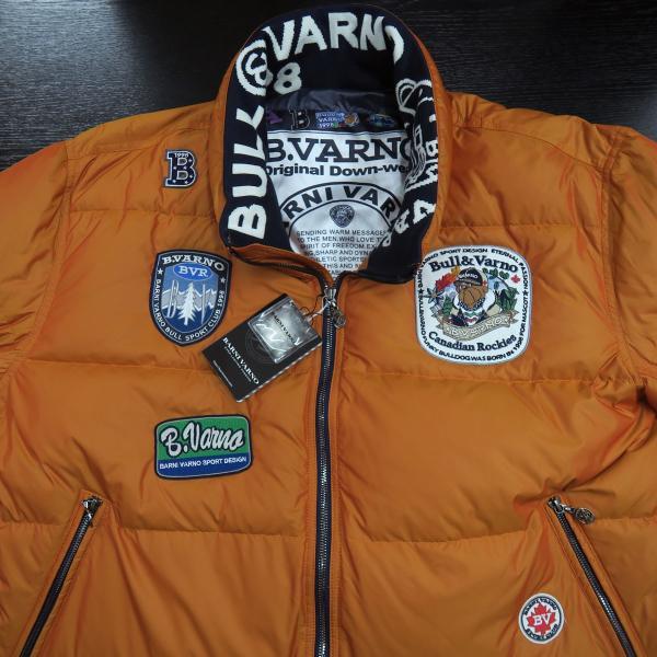 バーニヴァーノ ダウンジャケット オレンジ LLサイズ BAW-HDB3005-27 BARNI VARNO 新作 wanwan 04