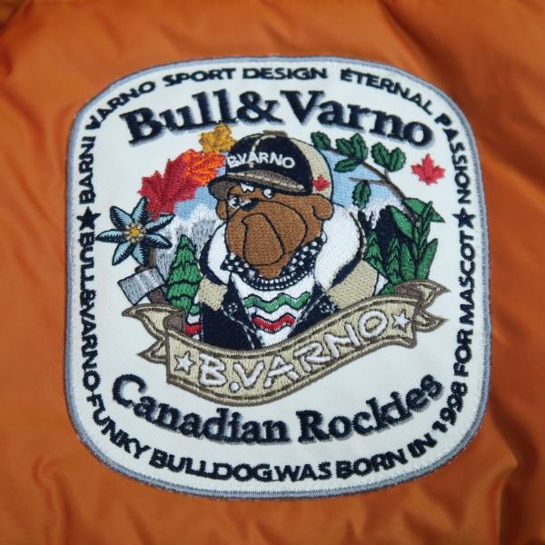 バーニヴァーノ ダウンジャケット オレンジ LLサイズ BAW-HDB3005-27 BARNI VARNO 新作 wanwan 05