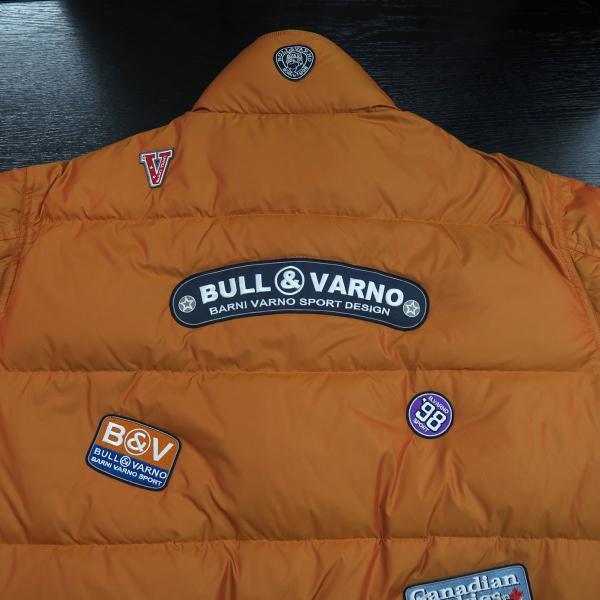 バーニヴァーノ ダウンジャケット オレンジ LLサイズ BAW-HDB3005-27 BARNI VARNO 新作 wanwan 07