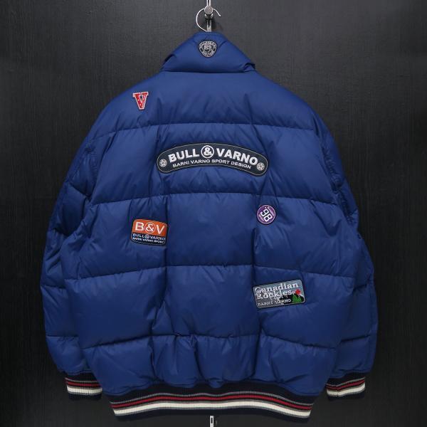 バーニヴァーノ ダウンジャケット 青 LLサイズ BAW-HDB3005-63 BARNI VARNO 新作|wanwan|02