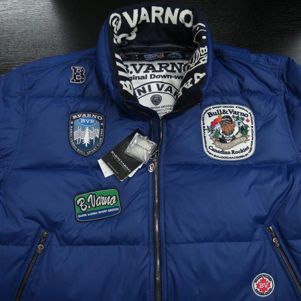 バーニヴァーノ ダウンジャケット 青 LLサイズ BAW-HDB3005-63 BARNI VARNO 新作|wanwan|03