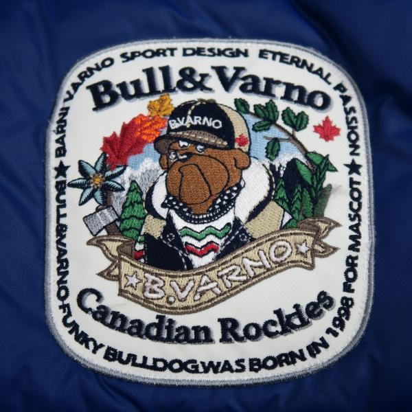 バーニヴァーノ ダウンジャケット 青 LLサイズ BAW-HDB3005-63 BARNI VARNO 新作|wanwan|05