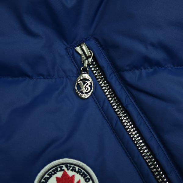 バーニヴァーノ ダウンジャケット 青 LLサイズ BAW-HDB3005-63 BARNI VARNO 新作|wanwan|06