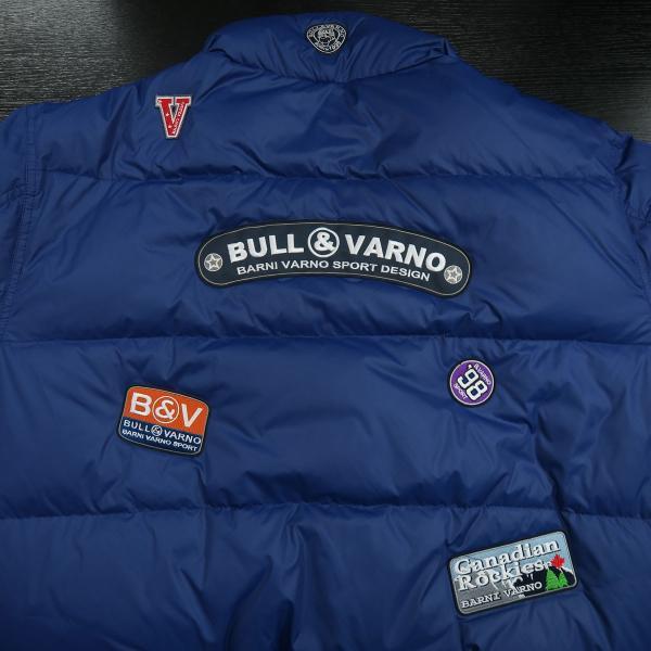 バーニヴァーノ ダウンジャケット 青 LLサイズ BAW-HDB3005-63 BARNI VARNO 新作|wanwan|08
