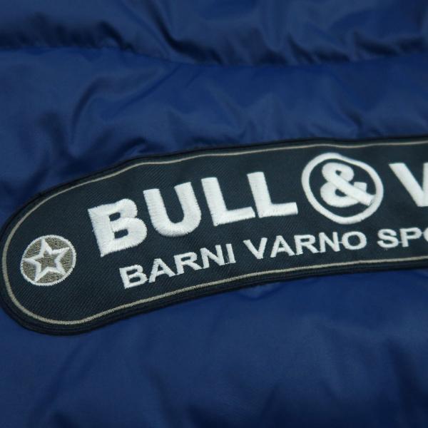 バーニヴァーノ ダウンジャケット 青 LLサイズ BAW-HDB3005-63 BARNI VARNO 新作|wanwan|09