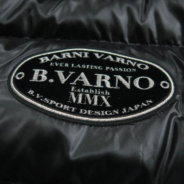 バーニヴァーノ ダウンジャケット 黒 Lサイズ BAW-HDB3007-09 BARNI VARNO 新作|wanwan|12