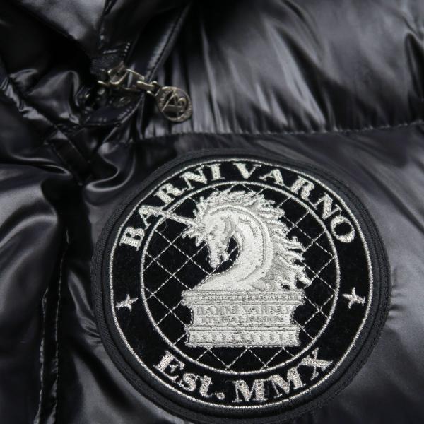 バーニヴァーノ ダウンジャケット 黒 Lサイズ BAW-HDB3007-09 BARNI VARNO 新作|wanwan|05