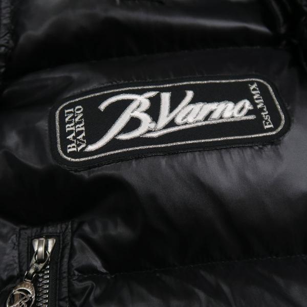 バーニヴァーノ ダウンジャケット 黒 Lサイズ BAW-HDB3007-09 BARNI VARNO 新作|wanwan|07